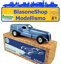 Renault Nervasport Blu Metallizzato Latta Carica Record Velocità Cij Norev 1:12