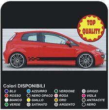 FIAT GRANDE PUNTO EVO Auto Vinile strisce grafica Decalcomanie Adesivi Sport 1.2