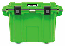 Pelican Lime Green/Grey 50 Quart QT Progear Elite Cooler Ice Chest ATV UTV