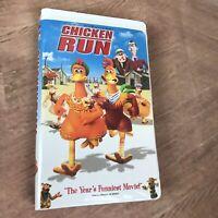CHICKEN RUN VHS VIDEO TAPE