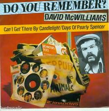 DAVID McWILLIAMS 'Can I Get there by Candelight / Days of Pearly Spencer' VINYL