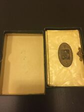 Librito Antiguo De Primera Comunion Santino Holy Card Santini