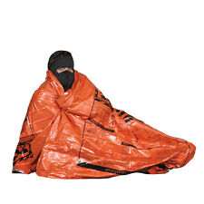 New In Packaging Survival Emergency Blanket 84 x 52 Orange 90% Heat Polar Shield