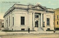 Elkhart Indiana~U.S Post Office~1910 PC