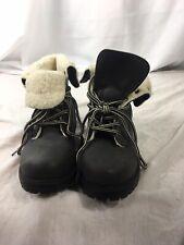 Ladies Atmosphere Winter Boots Fur Line Size 4 Grey