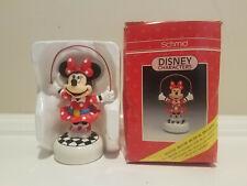 Disney Schmid Minnie Mouse Musical Figurine * My Favorite Things * Vintage
