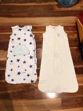 Bonds Cotton Baby Summer Snugglesuit Size1-2 & Snug Time Sleeping Bag Size2yrs