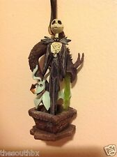 New 2014 DISNEY Jack Skellington and Zero CHRISTMAS ORNAMENT