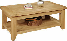 Less than 60cm Height Rectangle Traditional Coffee Tables