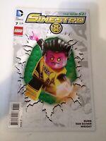 The New 52 Sinestro Lego  #7 DC Comics January 2015
