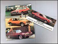 1978 AMC Original Car Sales Brochure - Concord Matador Pacer Gremlin AMX