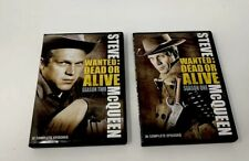 Wanted Dead or Alive DVD's Seasons 1, 2  Steve McQueen/Josh Randall