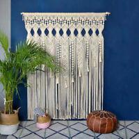 Bohemian Macrame Wall Hanging Tapestry Room Door Window Curtain Wedding Backdrop