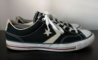 Mens Converse All Star Black Low Trainers - UK 10