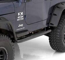 "Smittybilt Sure Step 3"" Gloss Black Sidebars 87-95 Jeep Wrangler YJ JN44-S2B"