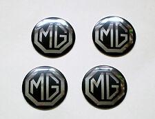 MG Midget Rostyle Wheel Centre Badges set of 4, MG part AHA8950B