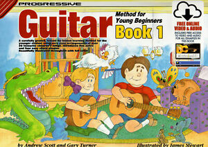 Progressive Guitar Method For Young Beginners Book 1 - Same Day P+P