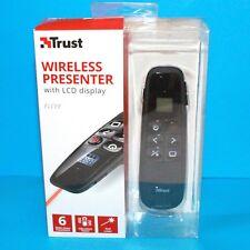 TRUST 20909 elcee Wireless Laser Presenter con display LCD e Timer, 6 funzioni