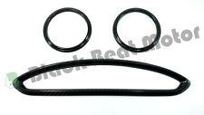 Scion FRS FR-S Subaru BRZ Toyota GT86 Carbon Fiber AC A/C Vent Trim Rings Kit