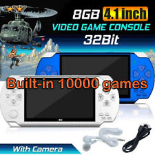 """X6 8G 32Bit 4.3"""" PSP Portable Handheld 10000 Classic Games Console Player Video"""