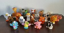 20 Fisher Price Little People Assorted mixed lot1 animals no duplicates farm zoo