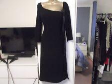 LADIES COAST DRESS SIZE 8-10 BLACK IN EXCELLENT CONDITION