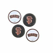 San Francisco (SF) Giants Golf Ball Markers (Set of 4) Double Sided