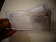New listing $2 Dollar Silver New Usa bill, comes inside bill holder. Great Collectible Gift.