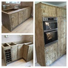 Up-cycled Industrial Custom Kitchen Units
