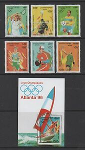 CAMBODIA 1996 OLYMPIC GAMES, ATLANTA (3rd issue) SET & M/SHEET *VF MNH*