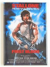 First Blood FRIDGE MAGNET (2 x 3 inches) movie poster sylvester stallone rambo