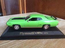 Plymouth GTX  1971   1:43 scale Yat Ming model metal car