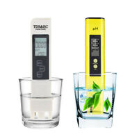 3in1 TDS & EC Meter + pH Tester Digital LCD Temperature Water Quality Purity Pen
