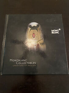 MONTBLANC COLLECTABLES Creations of Passion limited edition Mont Blanc pens book