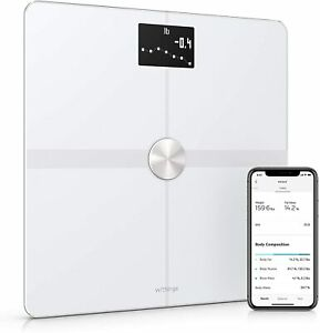 Withings Body+ - Digital Wi-Fi Smart Scale Full Body Composition, White