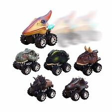 UiiQ Pull Back Dinosaur Cars Animal Dinosaur Vehicles Toys Big Tire Wheel Veh...