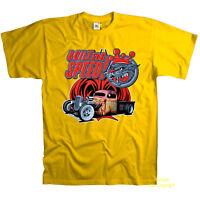 Vintage Auto T-Shirt bedruckt Hot Rod rat Fun motiv comicstyle truck *1082 y