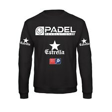 Felpa girocollo Padel, Padel Revolution Tornei Allenamento cool Tennis