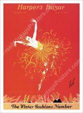 Harper's Bazar November 1920 cover Erte art deco dancer new poster 24x33