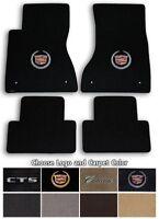 Plymouth Barracuda Velourtex Carpet Floor Mats Choice of Carpet Color /& Logo