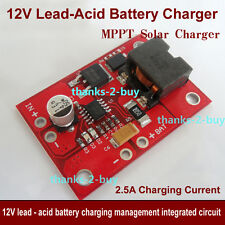 18V MPPT Solar Charger Controller for 12V Lithium Lead-acid Battery Charging