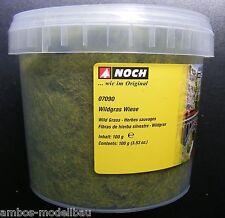 (11,99€/100g) NOCH 07090 Wildgras Wiese, 6 mm, 100 g Dose, Neu