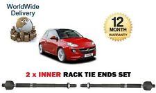 Pour Vauxhall Opel Adam 1.2 1.4 2012 - & GT NEUF 2 x inner cravate piste Rod Fin set rack