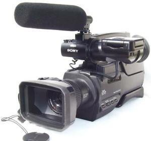 SONY HVR-HD1000E/1000P  HDV. MiniDV. HD PRO. Low Hours.PAL.Exnt cond.1-yr warnty