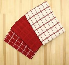 Ritz 100 Cotton Terry Kitchen Dish Towels Highly Absorbent 25 X 15 3 Pack