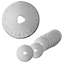 10Pcs 45MM Rotary Cutter Refill Blades Sewing Quilting Fits For Olfa Fiskars