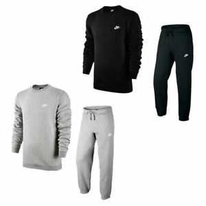 NIKE FULL CREW NECK TRACKSUIT 2 COLOURS IN MENS SIZES