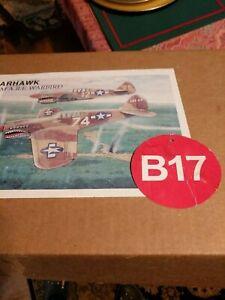 "VINTAGE Sure Flite foam model airplane kit P-40 WARHAWK  A.R.F. WARBIRD WS-51"""