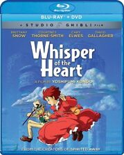 WHISPER OF THE HEART New Sealed Blu-ray + DVD Studio Ghibli