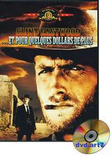 DVD : ET POUR QUELQUES DOLLARS DE PLUS  - film de Sergio Leone - Clint Eastwood
